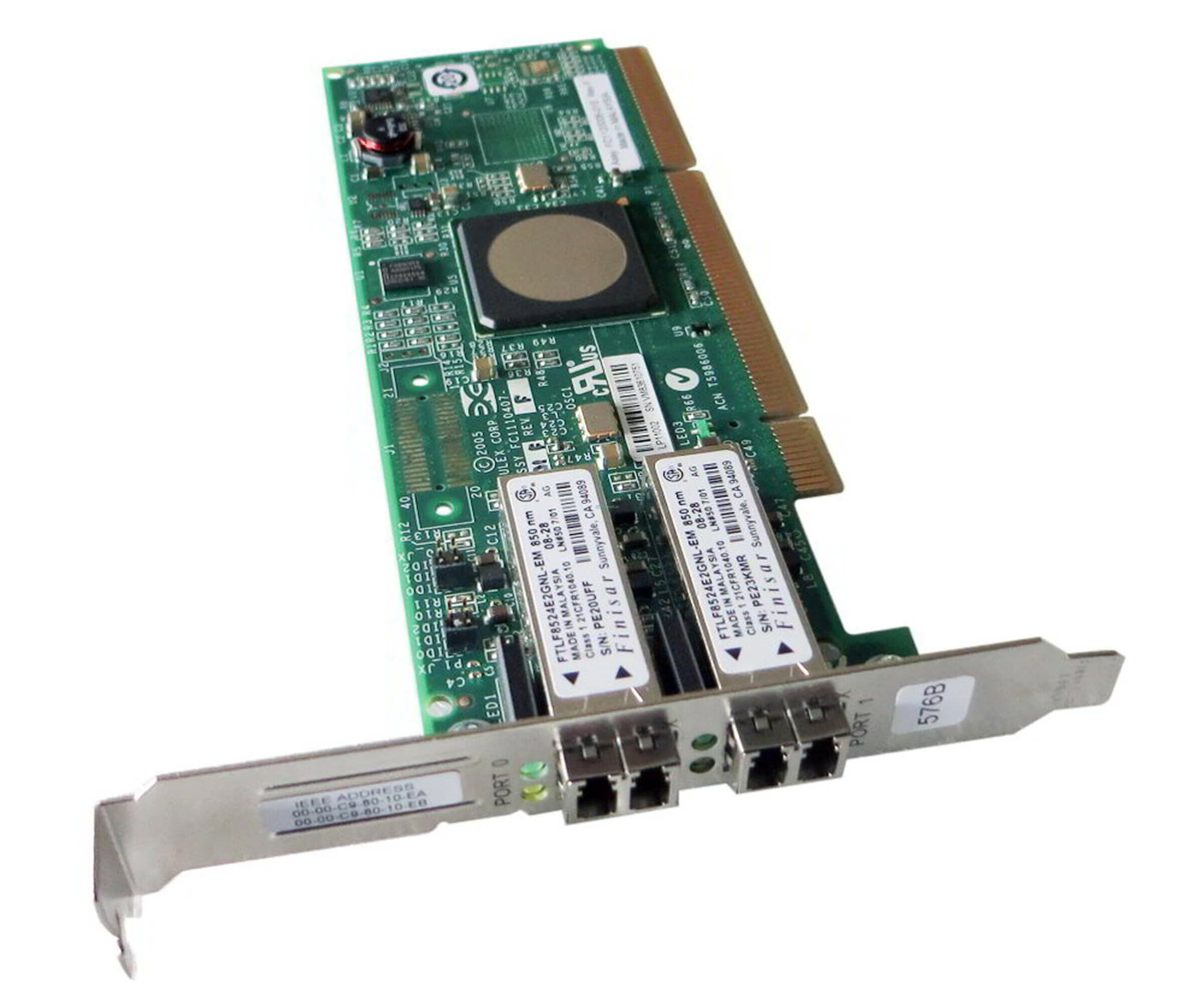 IBM 9XXX-5749 - 4 Gb Dual-Port Fibre Channel PCI-X 2.0 DDR Adapter - 32N1294