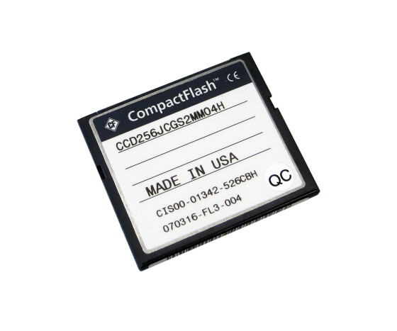 Cisco MEM-7301-FLD256 - 256 MB Compact Flash Card Memory - für Cisco 3701 Series