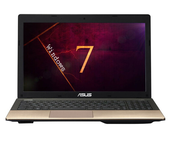 Asus K55VD Notebook - Core i5 2520M / 2.50 GHz - 4 GB RAM - 160 GB HDD - 15.6 TFT -  W7