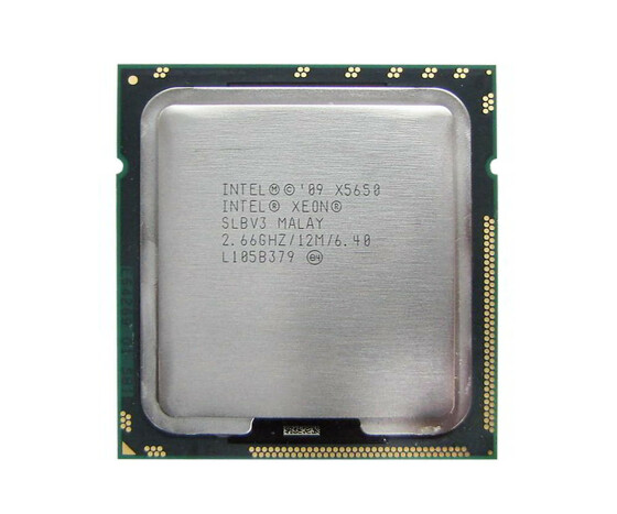 Intel Xeon X5650 - 2.66 GHz - 6-Core - LGA1366 Socket - für ProLiant BL460c G7 - 610860-B21
