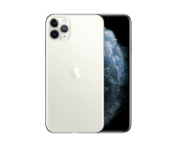 "Apple iPhone 11 Pro Max - Smartphone - Dual-SIM - 4G Gigabit Class LTE - 512 GB - GSM - 6.5"" - 2688 x 1242 Pixel (458 ppi (Pixel pro Zoll)) - Super Retina XDR Display (12 MP Vorderkamera) - Triple-Kamera - Silber"