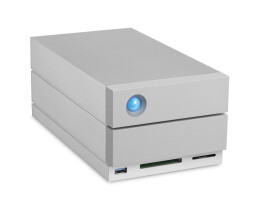 LaCie 2big Dock Thunderbolt 3 - Festplatten-Array - 20 TB...