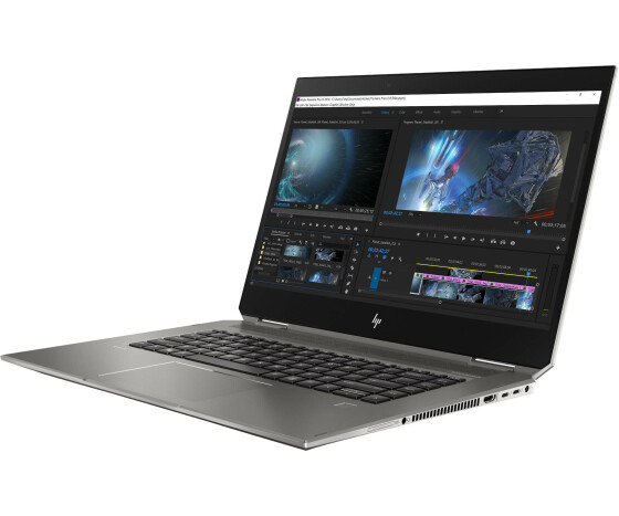 HP ZBook Studio x360 G5 Mobile Workstation - Flip-Design - Core i9 9880H / 2.3 GHz - Win 10 Pro 64-Bit - 16 GB RAM - 512 GB SSD NVMe, TLC - 39.62 cm (15.6)