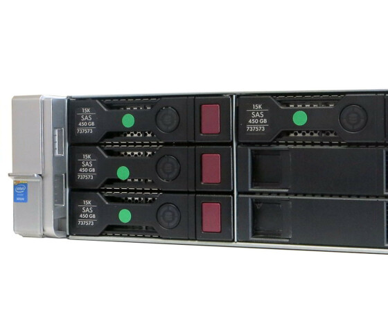 HP ProLiant DL380 G9 Base - Server - 1x Xeon E5-2620V3 / 2.4 GHz- RAM 16 GB - 4x 450 GB - 752688-B21