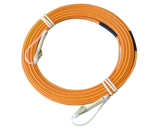Kabel LC-LC-5M-MM - LC-LC Duplex 62.5/125 OM1 Multimode Glasfaser-Kabel - orange - 5,00 m - 62LCLC5
