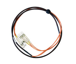 NetApp X6524-R6 - LC Glasfaser-Kabel - orange - 2,00 m