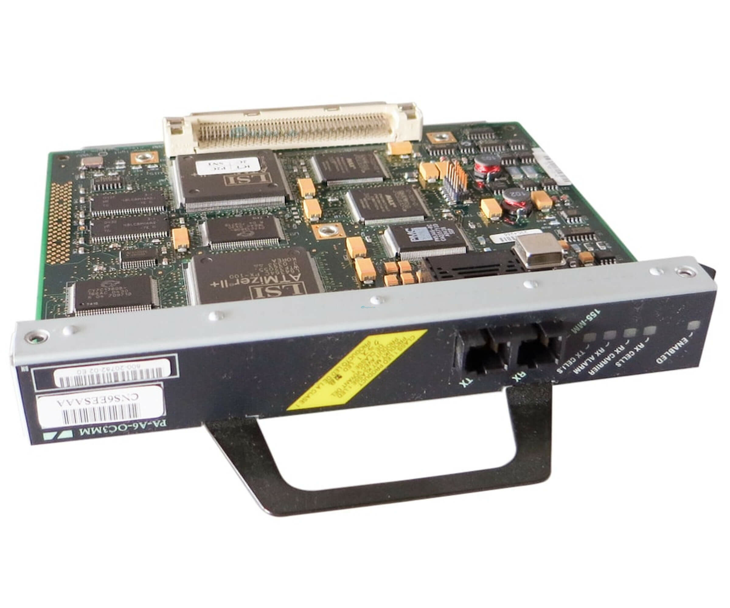 Cisco PA-A6-OC3MM - Enhanced 1-port ATM OC-3c/STM-1 multimode port Adapter - für Cisco 7000 Series