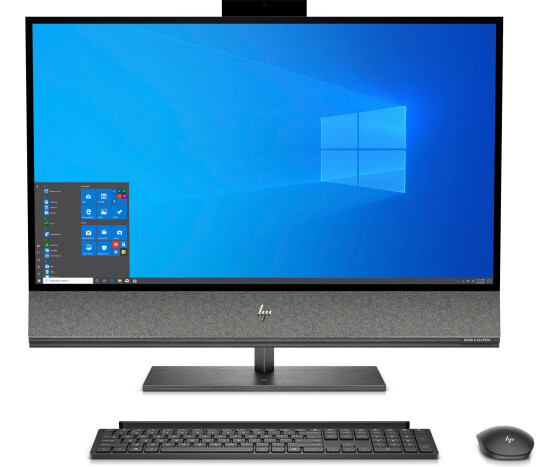 HP ENVY 32-a0005ng - All-in-One (Komplettlösung) - Core i7 9700 / 3 GHz - RAM 16 GB - SSD 512 GB - NVMe, HDD 1 TB - GF GTX 1650 / UHD Graphics 630 - GigE, Bluetooth 5.0 - WLAN: 802.11a/b/g/n/ac, Bluetooth 5.0 - Win 10 Home 64-Bit - Monitor: LED 80 cm (31.
