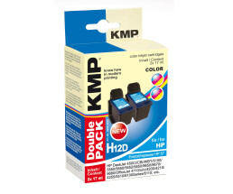 KMP H12D Double Pack - 2er-Pack - 17 ml - Farbe (Cyan,...