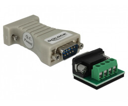 Delock Converter 1 x Serial RS-232 DB9 to 1 x Serial...