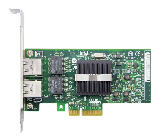 Dell - PRO / 1000 PT Dual Port Server Adapter PCI-E Gigabit Ethernet - X3959