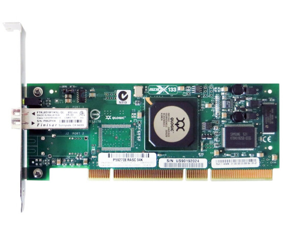 HP 283384-001 - PCI-X 133 MHz Fiber Channel Host Bus Adapter