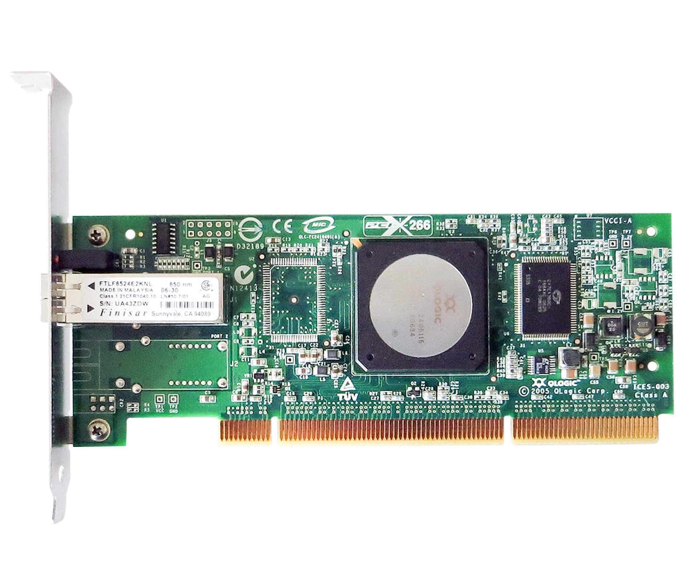 IBM 39M6017 - Single Port 4GB PCI-X Fibre Channel Host Bus Adapter