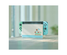 Nintendo Switch with Pastel Green and blue Joy-Con
