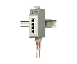 Microsens Fast Ethernet Industrial Switch with...