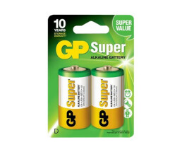 GP Battery GP Super Alkaline - Batterie 2 x D - Alkalisch