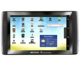 Archos 70 Internet Media Tablet - 160 GB - 17.7 cm (7) -...
