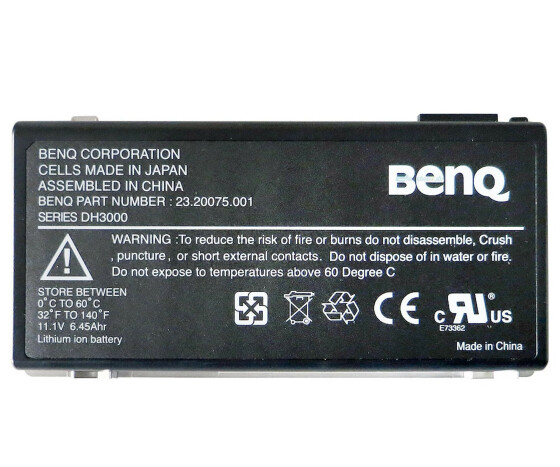 Benq DH300 - 23.20075.001 - Laptop Akku - Notebook 11.1 V - 6450mAh - Original