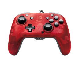 PDP Faceoff Deluxe+ Audio Wired Controller - Game Pad