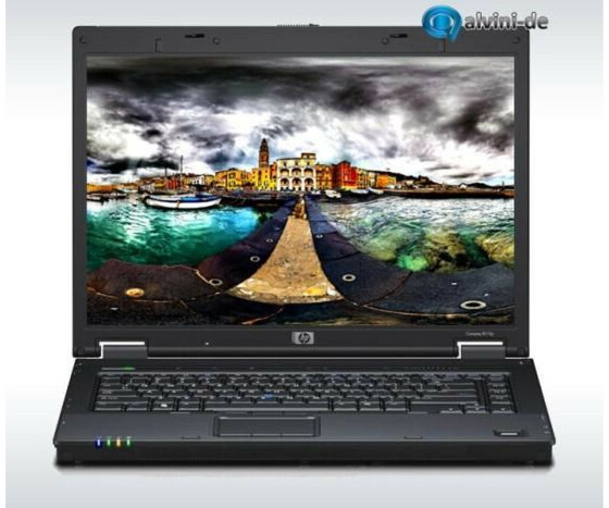 Notebook HP 8510P C2D T7300 2,0GHz 2GB 580GB Bluetooth Fingerprint DVDCDRW Gebraucht