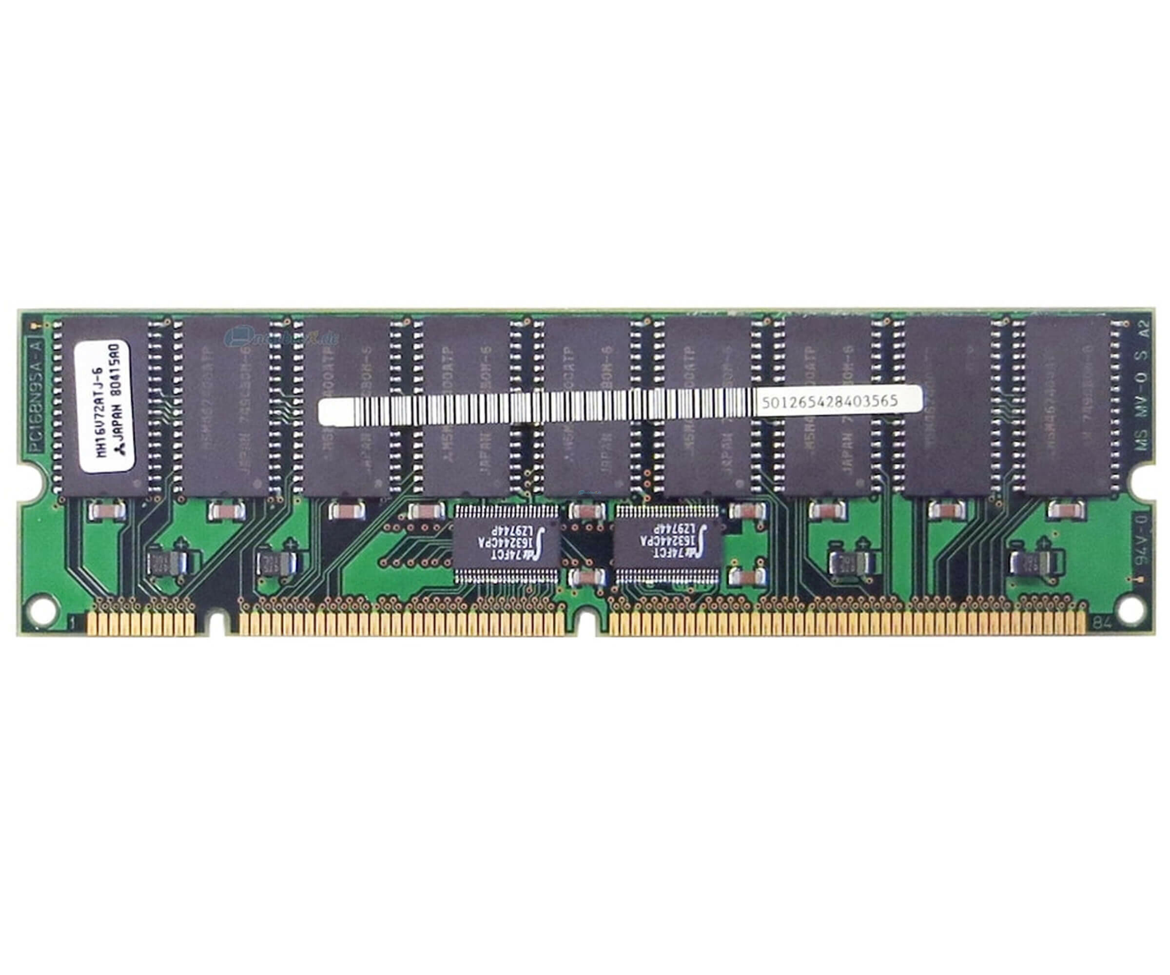 Sun X7023A Memory Kit - 1 GB (8x 128 MB) - EDO DIMM 168-PIN - RAM - 501-2654