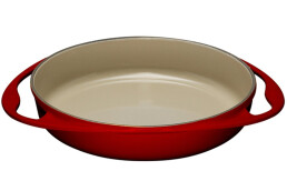 Le Creuset 20129280602460 - 2.7 L round - iron casting - red