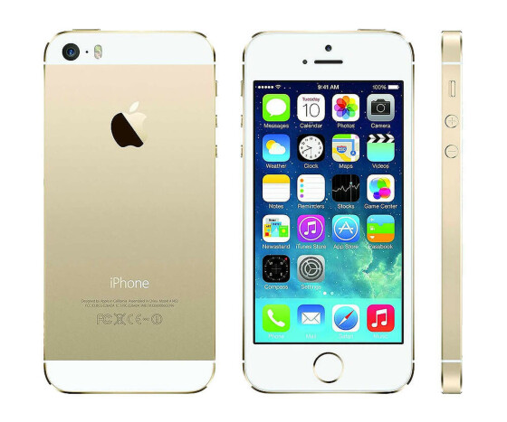 Apple iPhone 5S - Smart-Phone - 16 GB - 10.2 cm (4) -  326 ppi - A1457