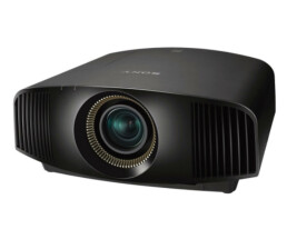 Sony 1800lm 4K SXRD lamp Projector black