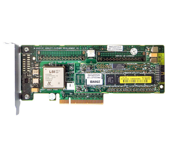 HP 447029-001 - Smart Array P400 8-Channel PCI-E RAID Controller