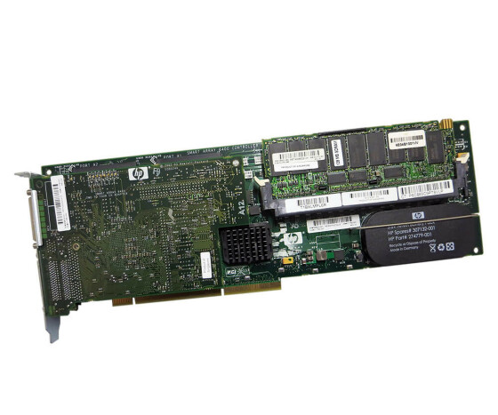 HP 273915-B21 - 128 MB RAID Controller Karte - inklusive 309523-001 Ultra 320 SCSI PC Board - für HP Smart Array 6402