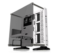 Thermaltake Core P3 TG Snow - Tempered Glass Snow Edition...