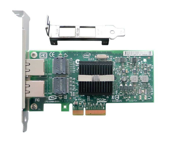 Fujitsu Intel - PRO/1000 PT Dual Port - Server Adapter - S26361-F3228-L1