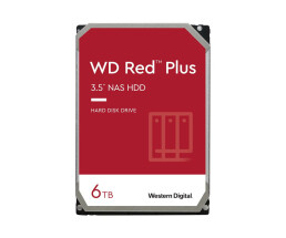 WD Red Plus NAS Hard Drive WD60EFZX - Festplatte - 6 TB -...