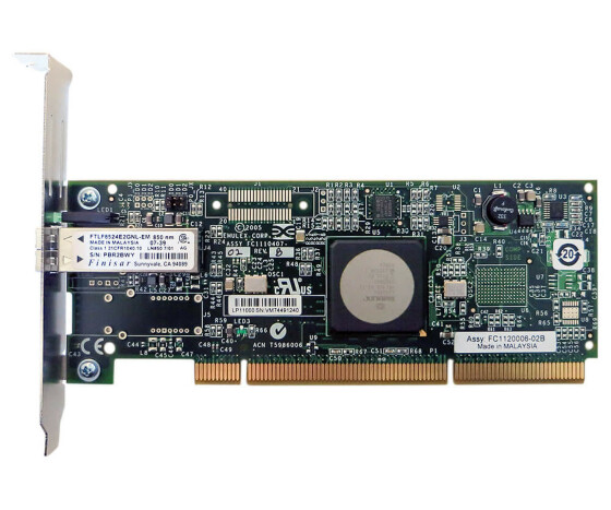 IBM 03N5014 - from 9406 to 5761 - Single-port 4 Gb / s Fiber Channel PCI-X Host Bus Adapter - for IBM pSeries