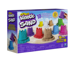 Spin Master Master Kinetic Sand 10 Colour Pack| 6052995