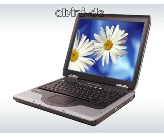 Notebook HP Compaq Presario 2100 Athlon XP 2800+ 2133MHz 512MB 40GB DVD XP Gebraucht