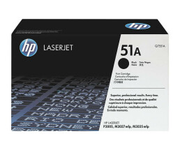 HP 51A - toner cartridge - 1 x black - 6500 pages - Q7551A