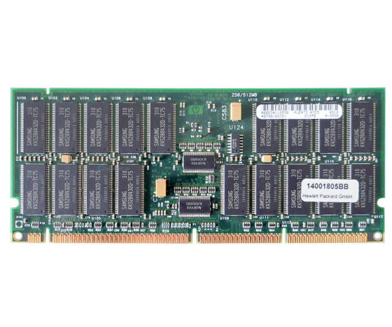 HP A5798A Memory Kit - 1 GB (2x 512 MB) - PC-133 - DIMM...