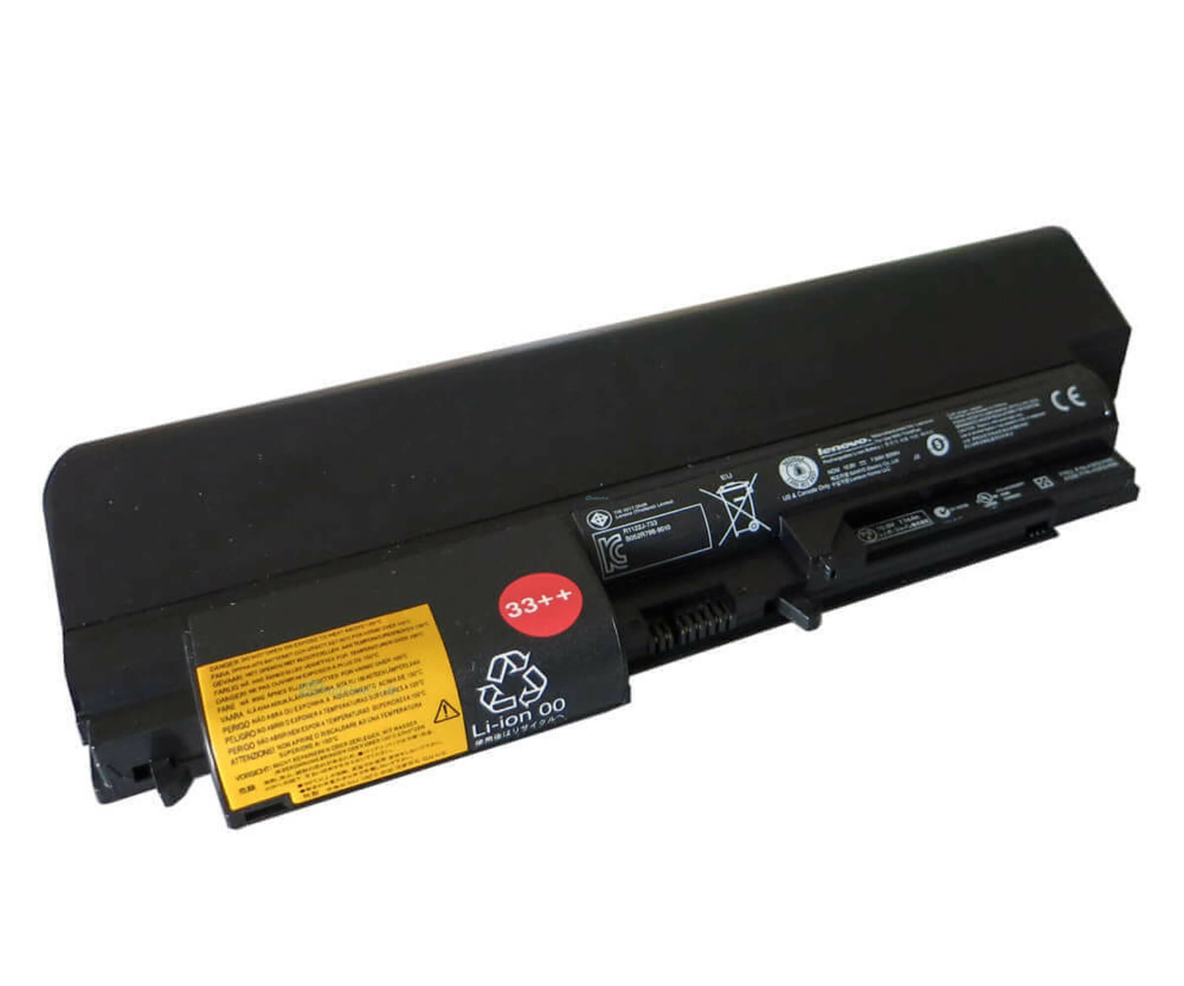 Lenovo ThinkPad - Laptop-Batterie (High Capacity) - 1 x Lithium-Ionen 9 Zellen 7800 mAh