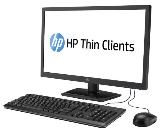 HP Zero Client t310 - Thin Client - J2N80AA - All-in-One - 1 x Teradici Tera2321 - 512 MB DDR3