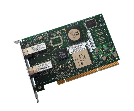 HP A9782AX - Dual-Channel PCI-X 1000Base-T Fibre Channel Host Bus Adapter