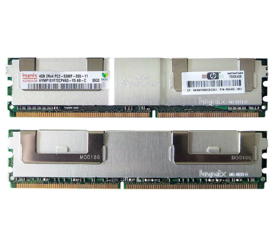 HP 466440-B21 Memory Kit - 8GB (2x 4 GB) - PC2-5300 -...