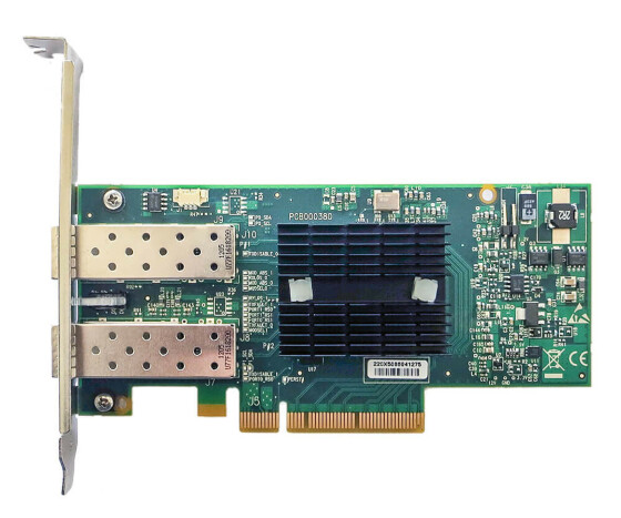 HP 516937-B21 - 10GBE - PCI-E G2 - Dual Port Netzwerkkarte - Server Adapter