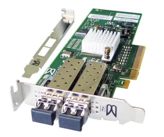 Brocade 825 - Hostbus Adapter - BR-825-0010 - FC8 Fiber Channel HBA