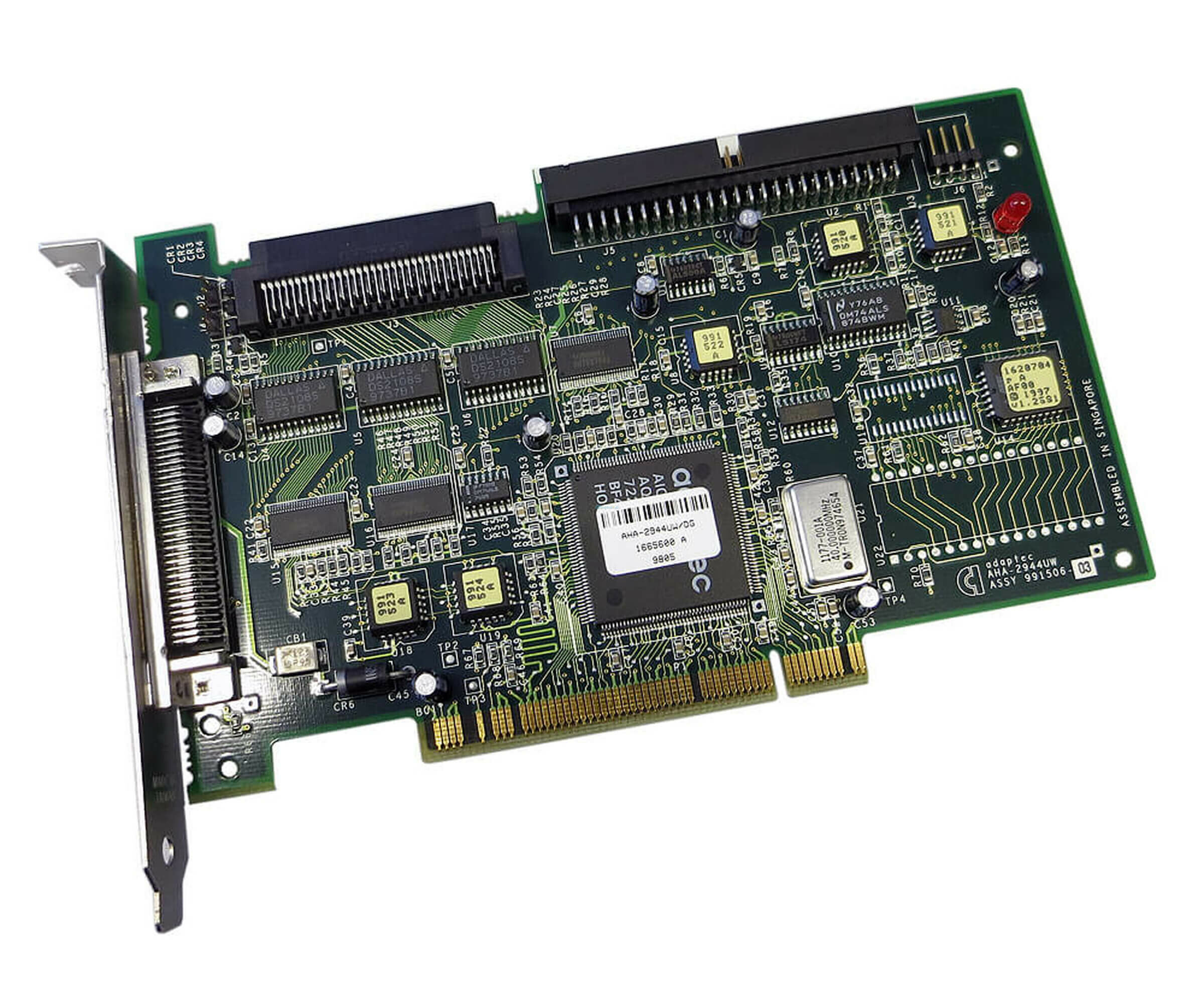 Dell Adaptec FGT-2944-UW - High Voltage Differential SCSI Controller - FGT-2944UW