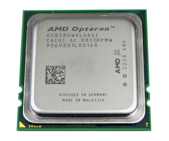 Sun 371-4439 - AMD Opteron 8384 - 2.70 GHz Prozessor - Socket Fr2(1207) - 6 MB - 4-Core - KIT