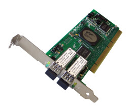 Dell QLogic QLA2342 - 2 GB/s Dual Port Fibre Channel PCI-X Adapter