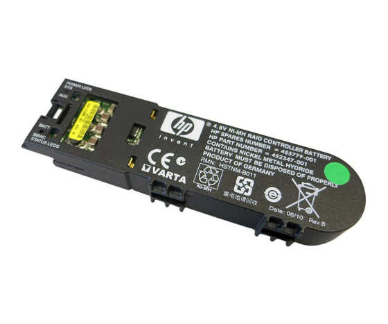 HP 453779-001 - 452347-001 - Battery 4.8 VAC - for P400, P700 Controller