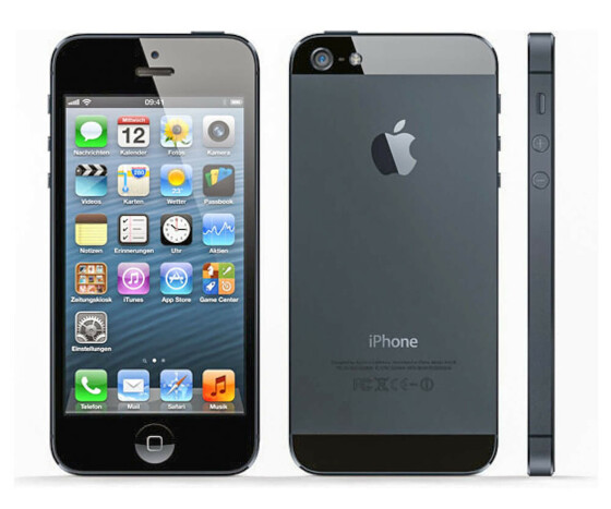 Apple iPhone 5 - Smart-Phone - 32 GB - 10.2 cm (4) -  326 ppi - A1429