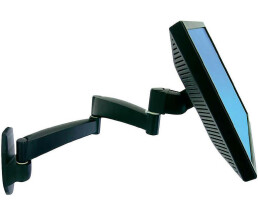 Ergotron - Swivel arm series 200 - 2 boom arms - for wall...